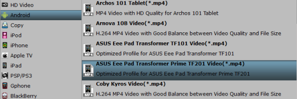 Solution to play Dvix/Xvid AVI files on Transformer Pad TF300 flawlessly