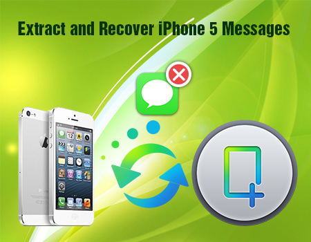 Backup Text Messages directly from iPhone 5 to PC