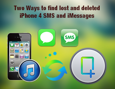 Recover Messages and iMessages from iPhone 4